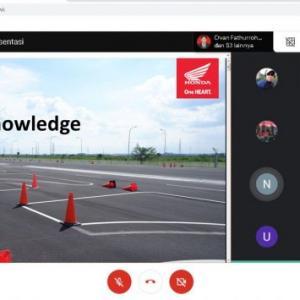 Honda Banten Edukasi Karyawan PT. MMS Terkait Safety Riding